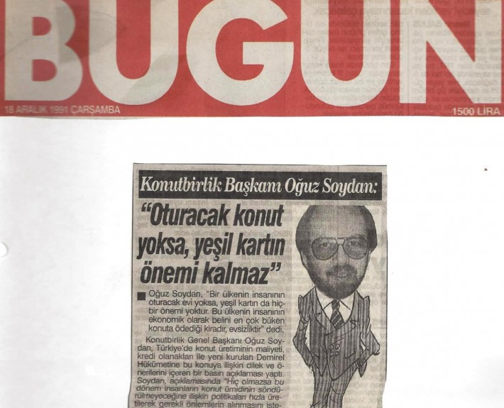 10 Aralık 1991 Bugün