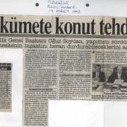 17 Mart 1993 Türkiye