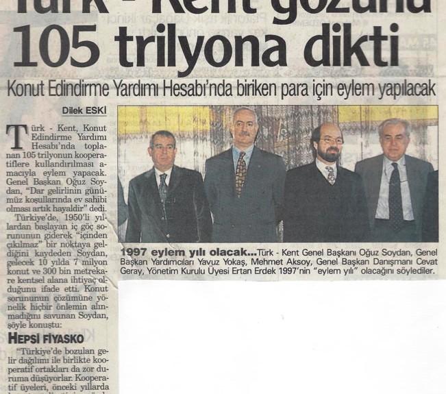 31 Ocak 1997 Gazete Ege